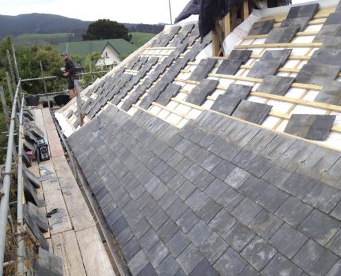 Image of Reclaimed Welsh Slate roofing