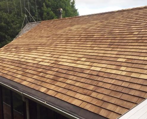Image of Cedar Shingle roofing
