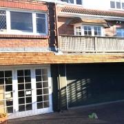 Image of Tile Eaves above Garage