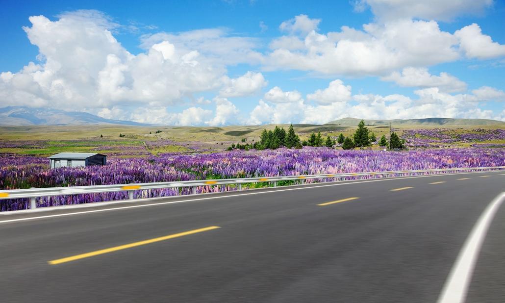 Image of motorway in rural setting